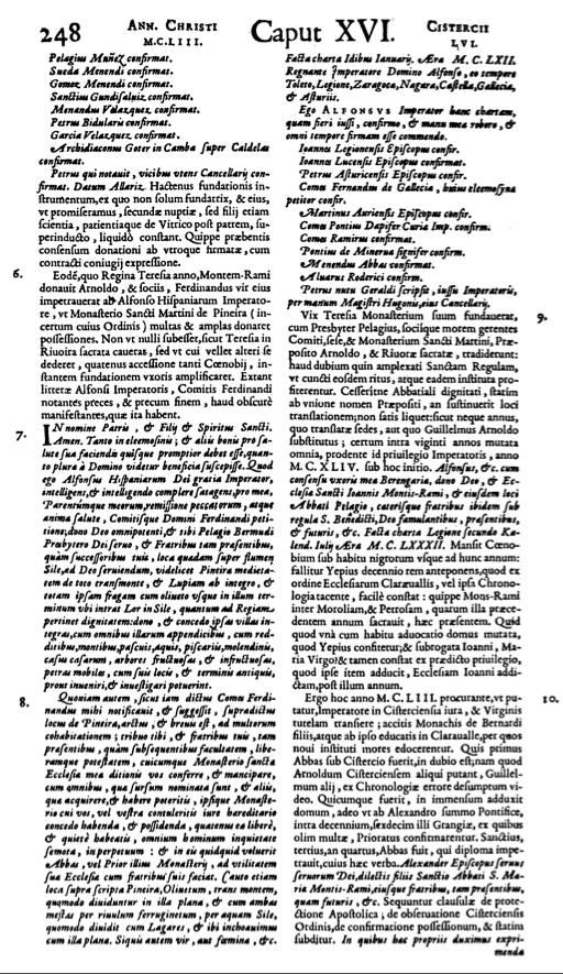 Cisterciensium: seu, Verius ecclesiasticorum annalium a condito Cistercio, auctore Angelo Manrique, Volumen 2
