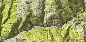 Mapa Vilachá