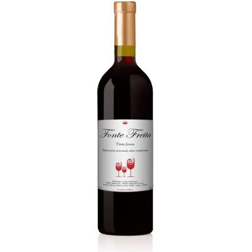 botella vino tinto mencia fonte freita