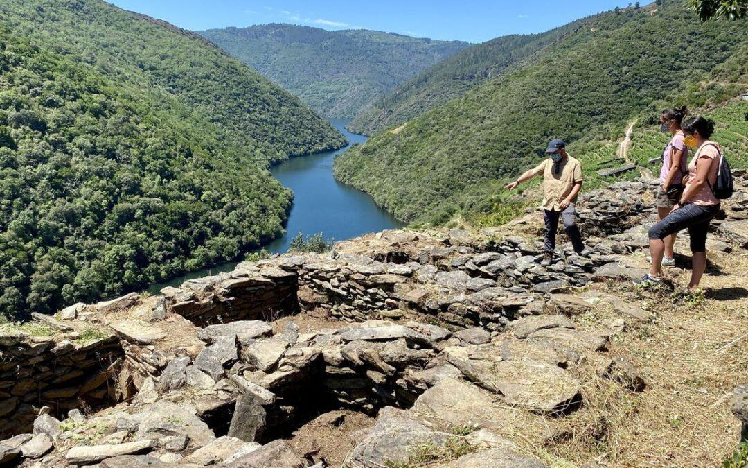 Segunda fase de la prospección del origen de la Ribeira Sacra en Vilachá de Salvadur